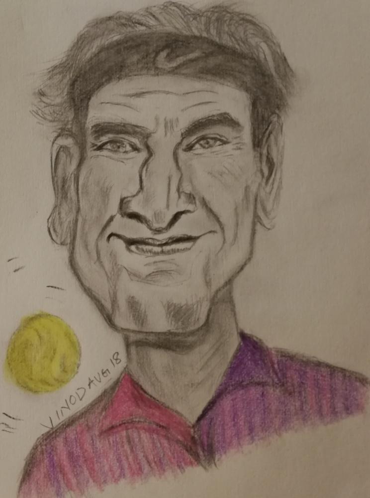 Roger Federer par vinodnair